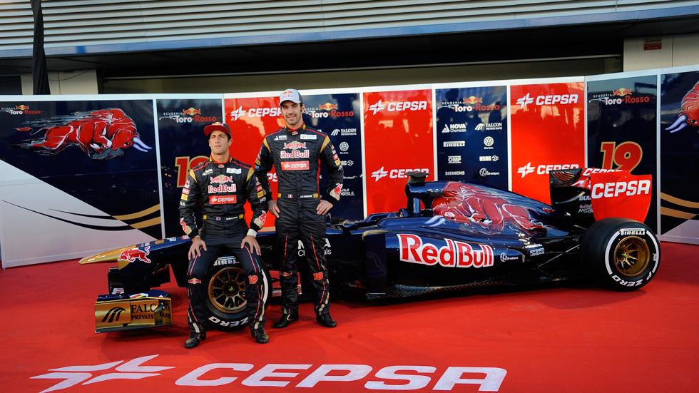 Toro Rosso STR8: ser el sexto equipo de la F1, su objetivo