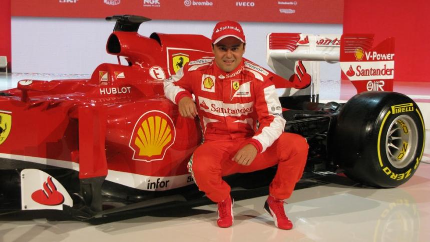 Felipe Massa, nuevo piloto de Williams