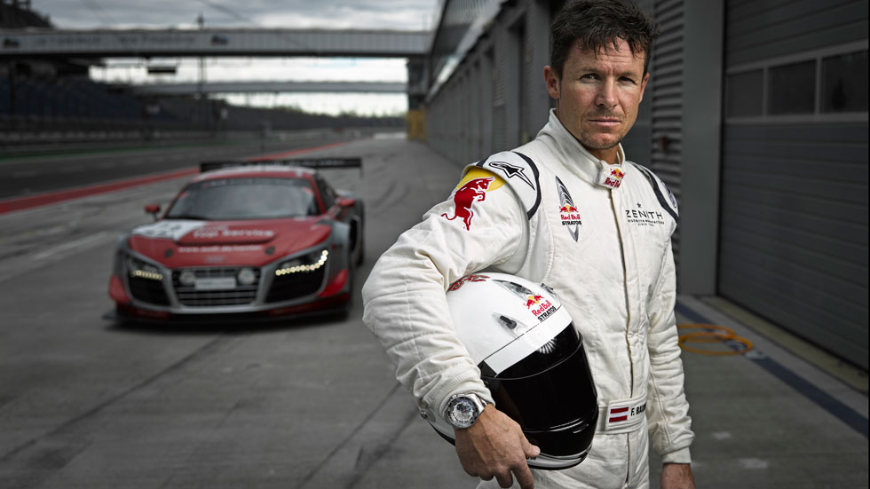Baumgartner correrá las 24 Horas de Nürburgring con Audi
