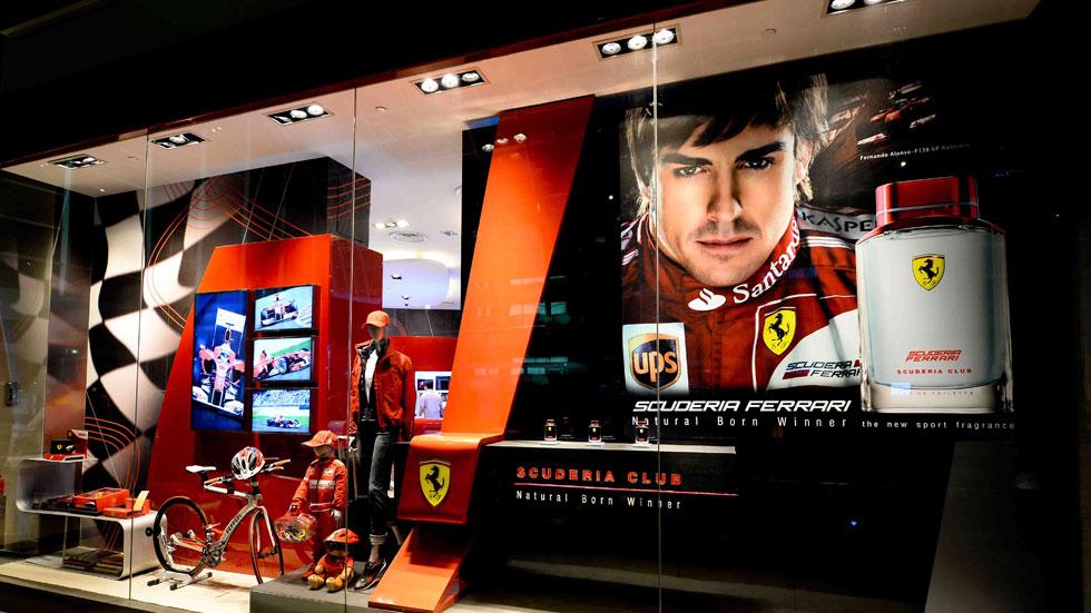 Fernando Alonso, imagen del nuevo perfume de Ferrari