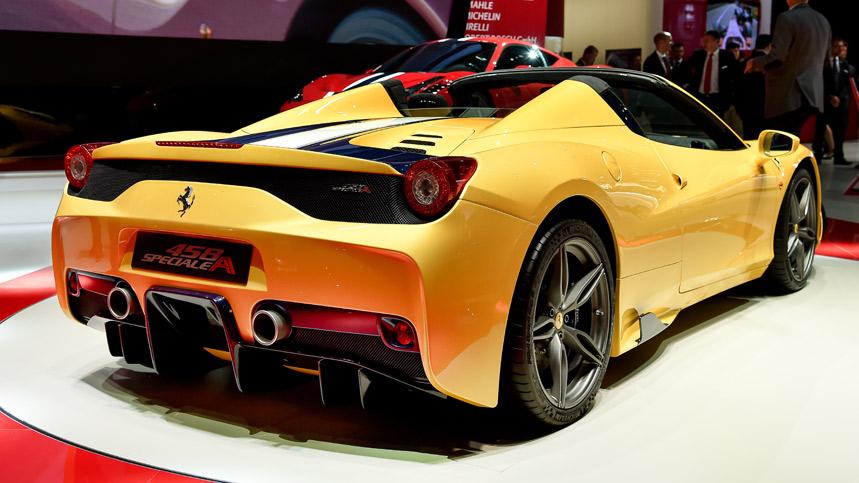 Ferrari 458 Speciale Aperta, un Spider sólo para 499 afortunados