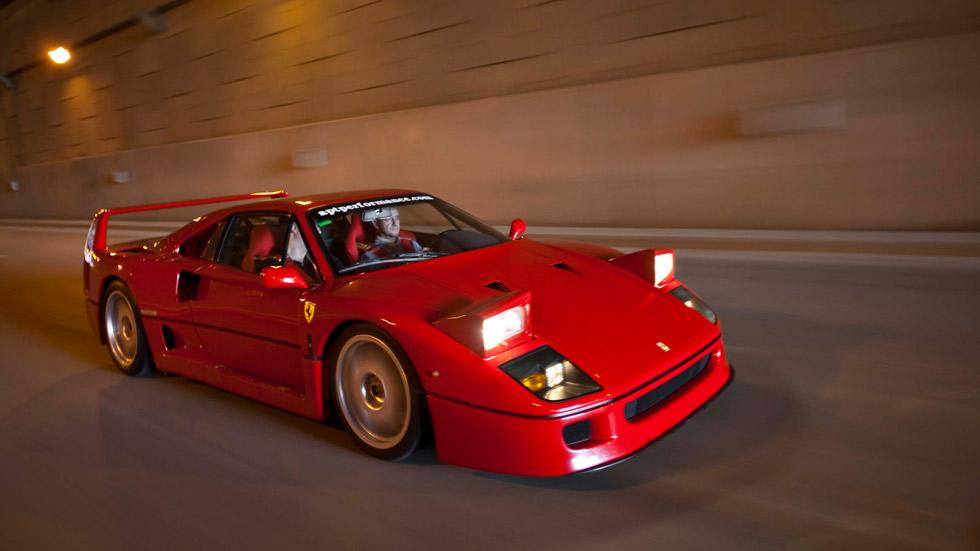 Prueba clásica: Ferrari F40, vieja escuela