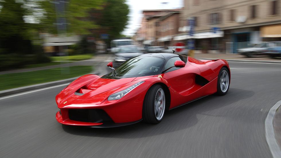 Ferrari LaFerrari, la diosa roja
