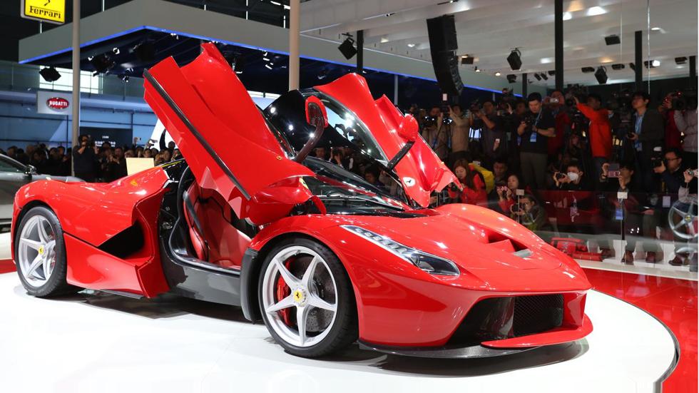 Ferrari LaFerrari, el nuevo coche de Cristiano Ronaldo