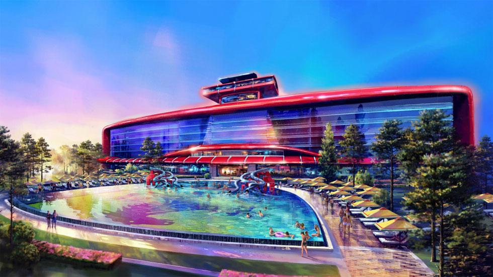 El parque de atracciones de Ferrari estará junto a Port Aventura