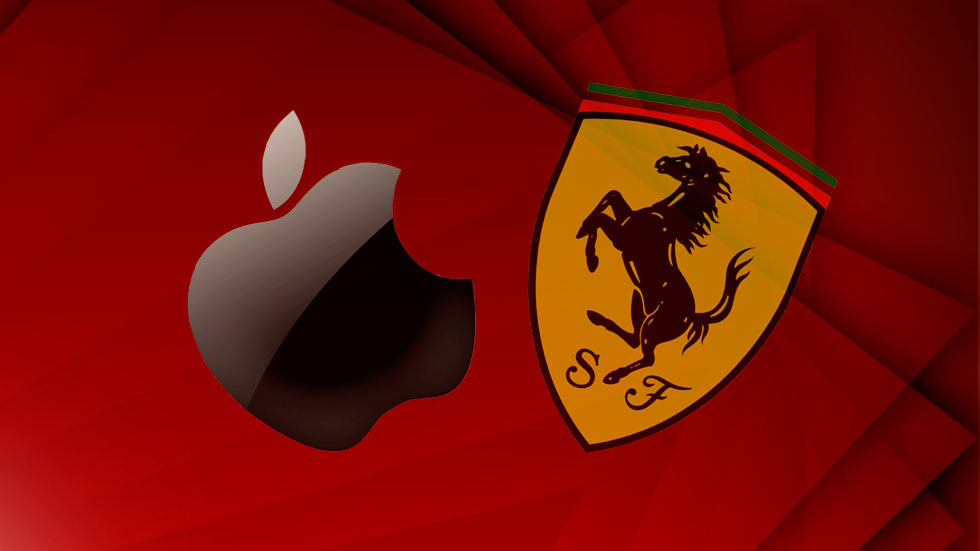 Ferrari y Apple se alían