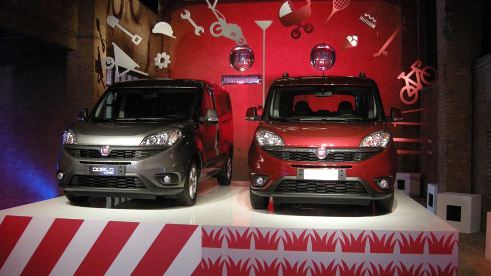 Fiat Dobló 2015, el coche de las dos caras de la moneda