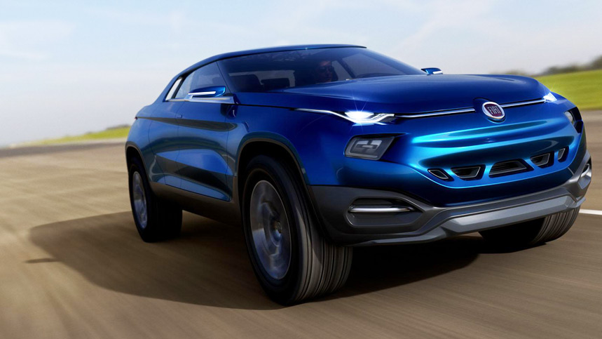 Fiat FCC4 Concept, ¿un híbrido entre Evoque y pick-up?