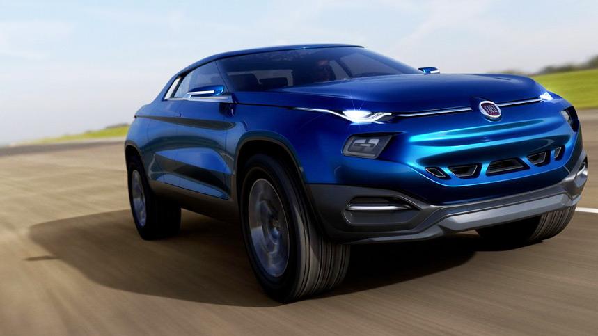 Fiat FCC4 Concept, ¿un híbrido entre Evoque y pick-up?