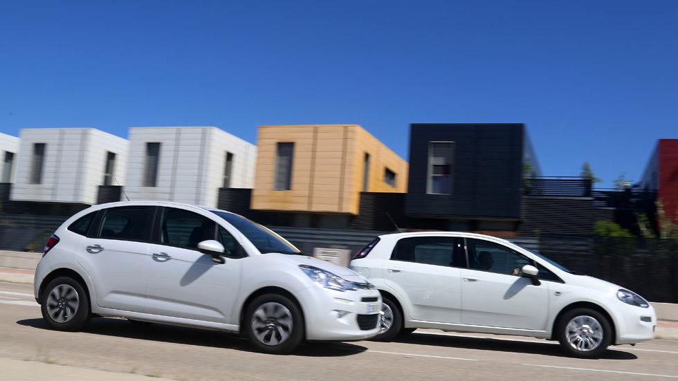Comparativa: Fiat Punto 1.4 GLP y Citroën C3 1.4 GLP, ahorro asegurado