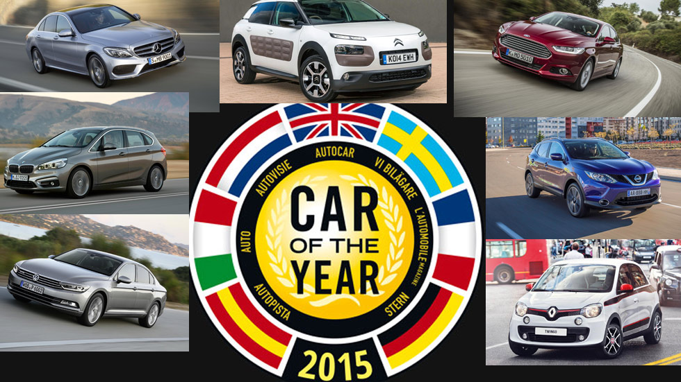 Estos son los finalistas del Car of The Year 2015