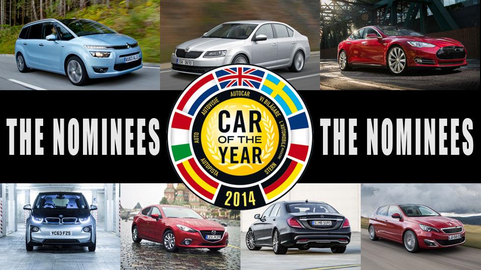 Coche del Año en Europa 2014: los finalistas, analizados