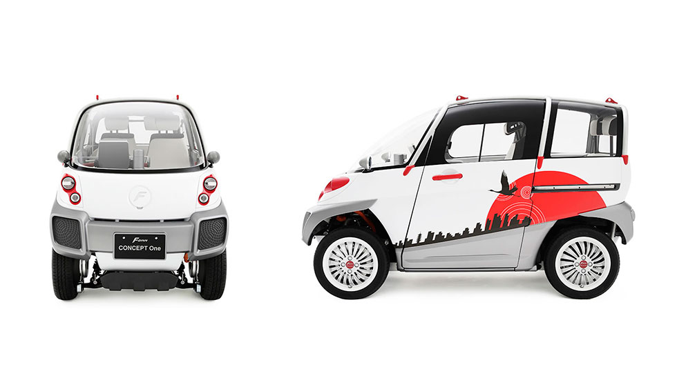 FOMM Concept One, el coche antitsunamis