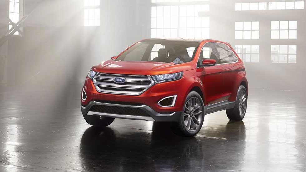 Ford Edge, el SUV global de gran tamaño