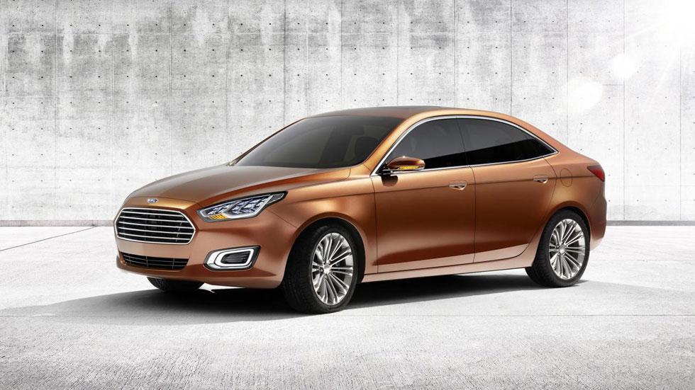 Ford Escort Concept, una alternativa al Focus