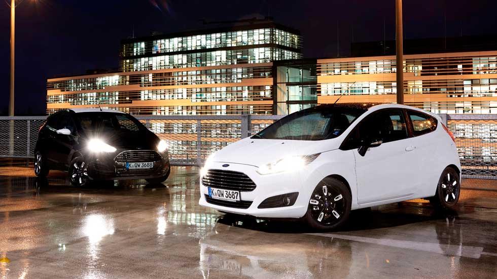 Ford Fiesta y Ka Black y White, dos ediciones muy a la moda