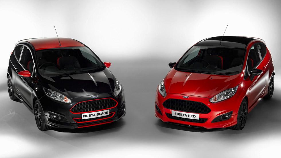 Ford Fiesta Red Edition y Black Edition, ya a la venta