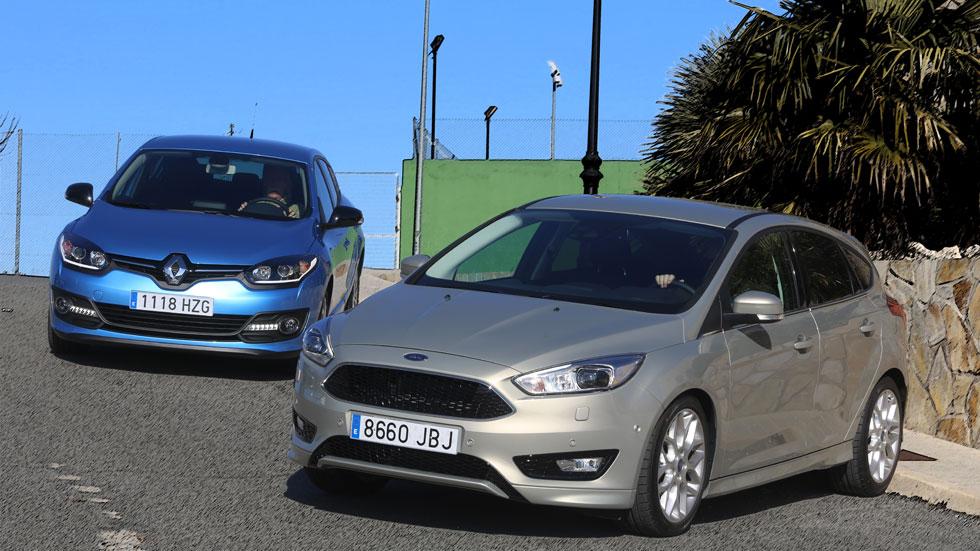 Comparativa: Ford Focus 1.6 TDCI 115 vs Renault Mégane 1.5 dCi 110