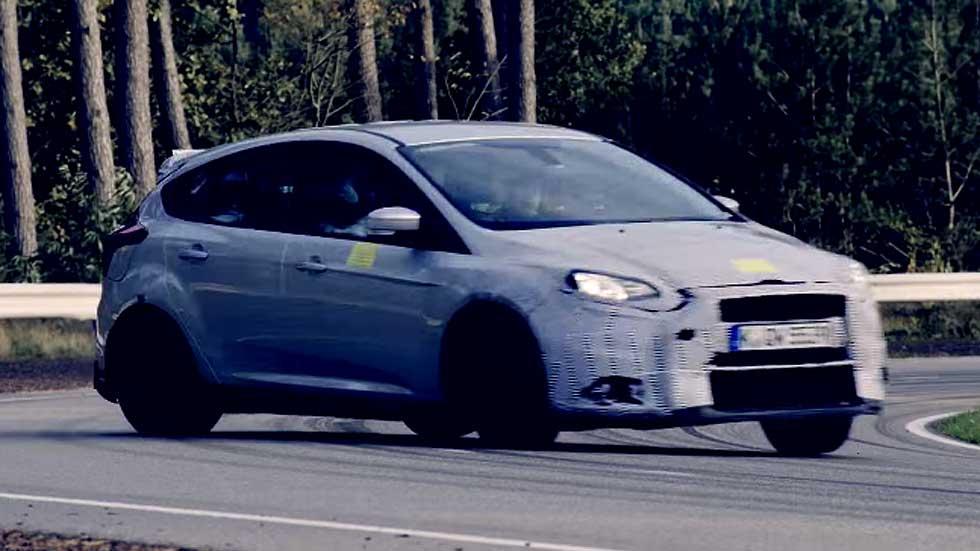 Ford Focus RS 2015, para ir de lado en todas las curvas (vídeo)