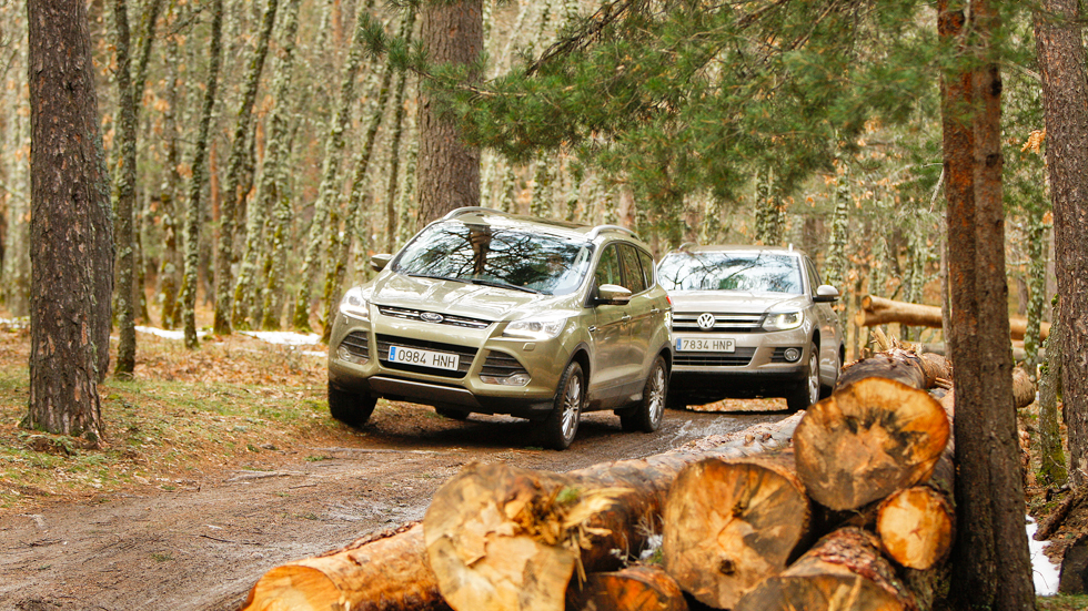 Comparativa: Ford Kuga 2.0 TDCi 4x4 vs VW Tiguan 2.0 TDI 4Motion