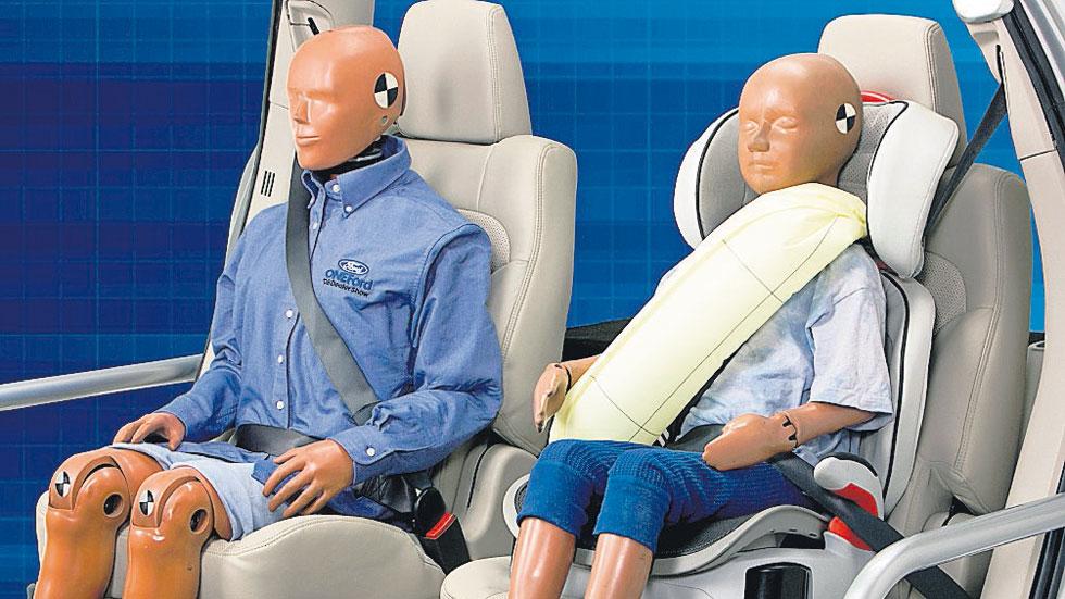 Llega el cinturón de seguridad hinchable