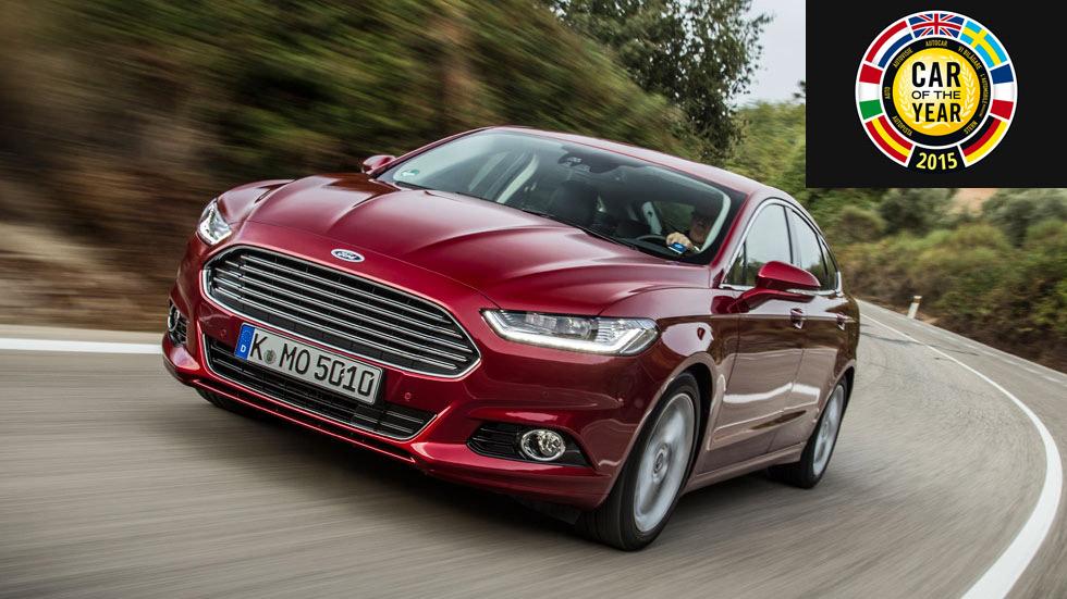 Pros y contras del Ford Mondeo, finalista del Car of The Year 2015