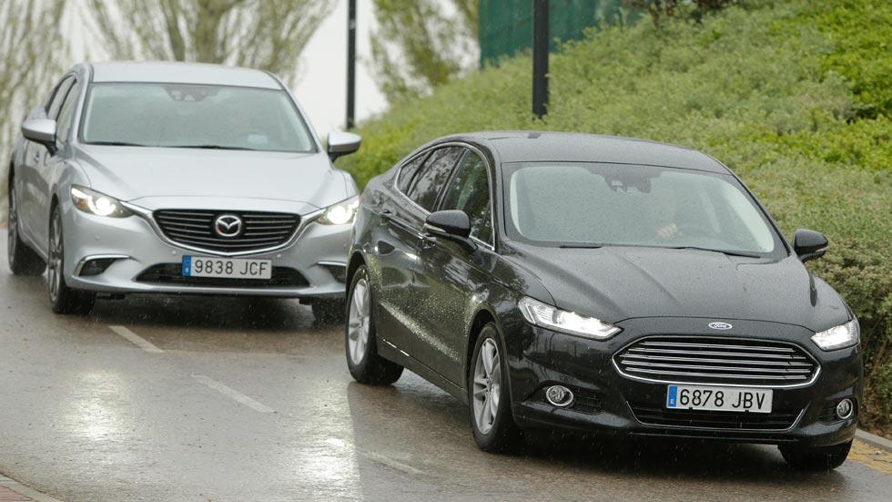 Ford Mondeo 2.0 TDCI 180 CV contra Mazda 6 2.2 Skyactiv-D 175