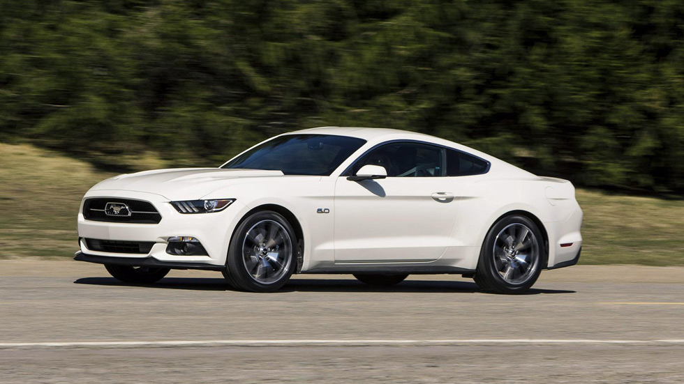 Ford Mustang 50 Year Limited Edition, regalazo del 50 aniversario