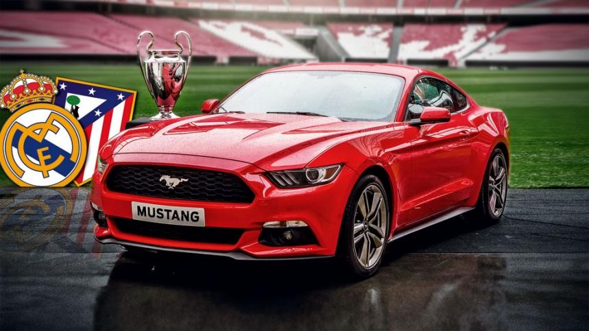 Ford Mustang: 9.300 reservas durante la final de la Champions