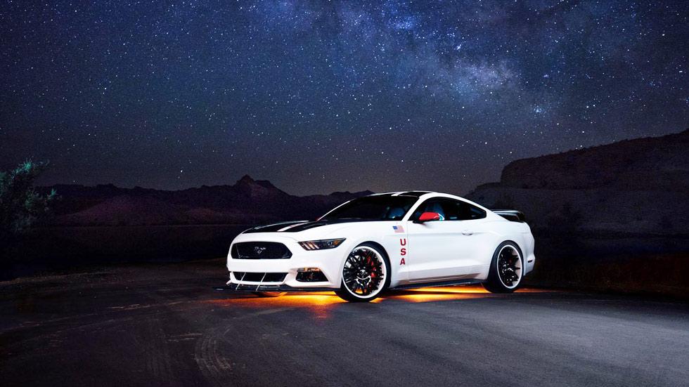 Ford Mustang GT Apollo Edition, hay un 'yanqui' en la luna