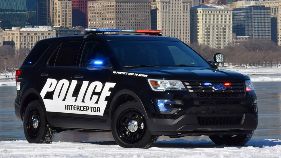 Ford Police Interceptor Utility 2016: cerco a los delincuentes