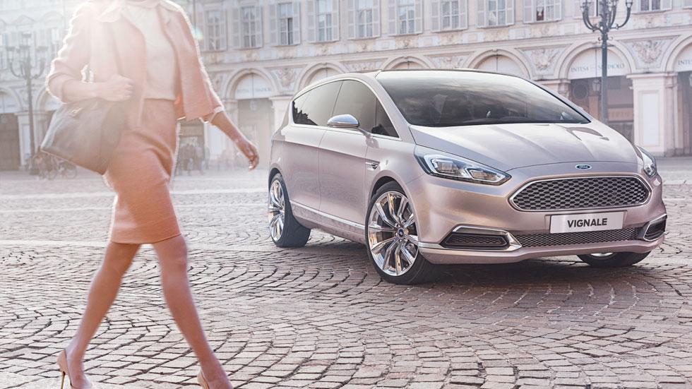 Ford S-MAX Vignale Concept, diferenciador