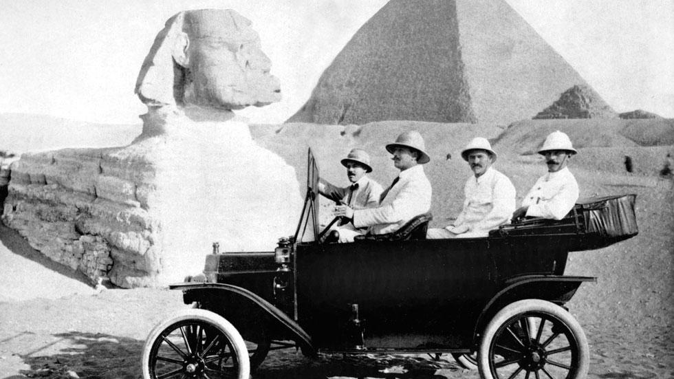 1914. El Ford T conquista Egipto