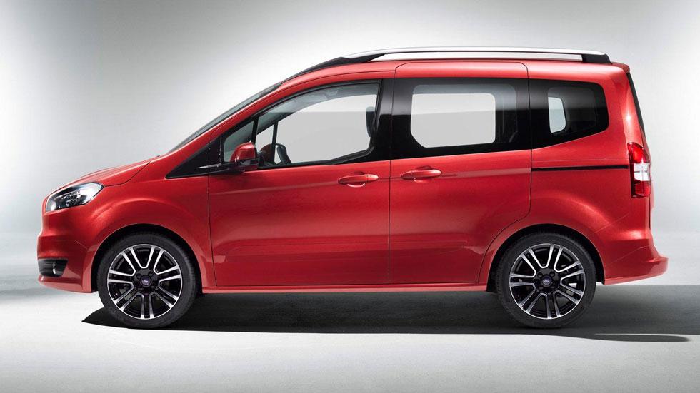 Ford Tourneo Courier, funcionalidad y eficiencia
