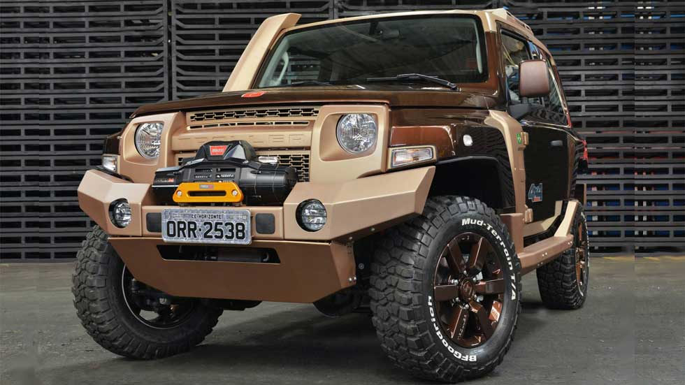 Ford Troller T4 Concept, bestia todoterreno con motor Diesel
