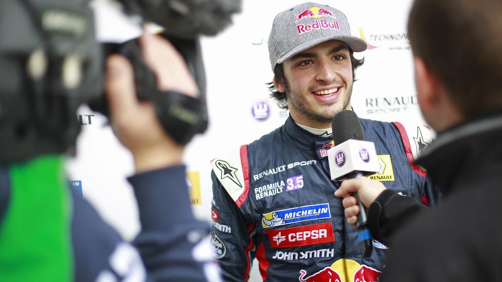 Fórmula Renault 3.5 – Alcañiz: Sainz sigue al frente