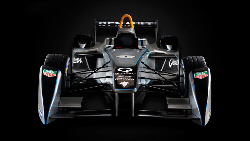 Renault desvela en Frankfurt su monoplaza para la Fórmula E