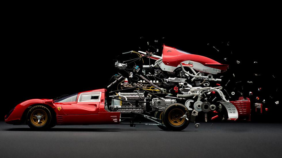 El fotógrafo que 'destroza' coches
