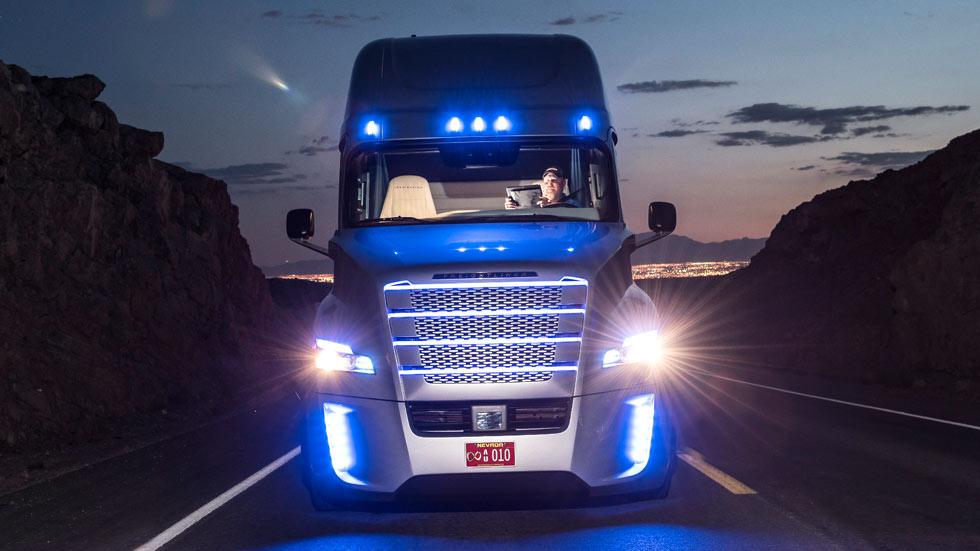 Freightliner Inspiration Truck, el camión autónomo americano