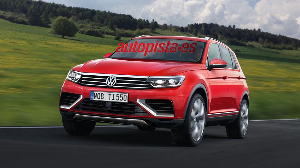 Futuro VW Tiguan 2015, dos mejor que uno