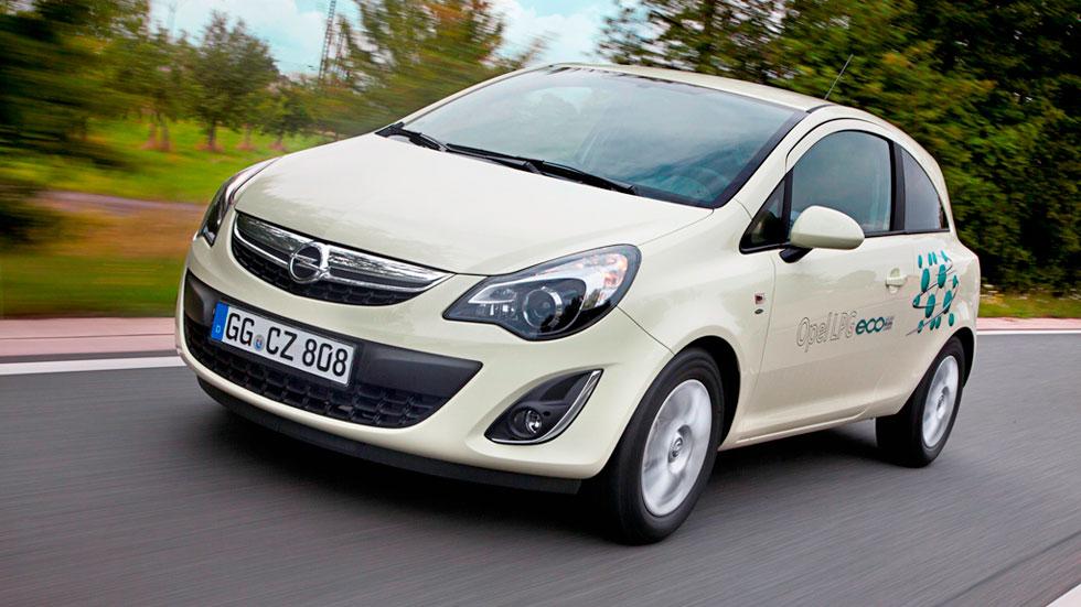 La gama GLP de Opel, a precio de Diesel