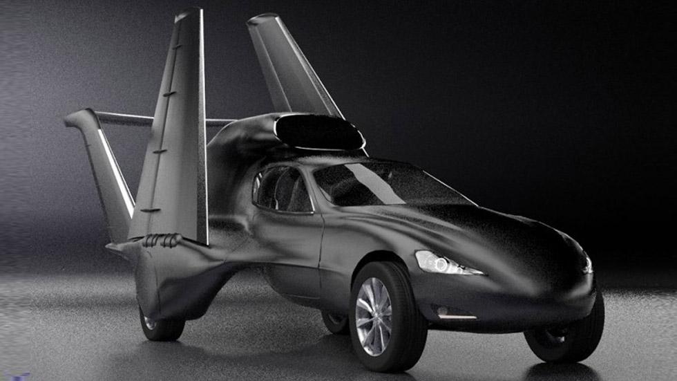 GF7: el coche-volador que alcanza los 885 km/h