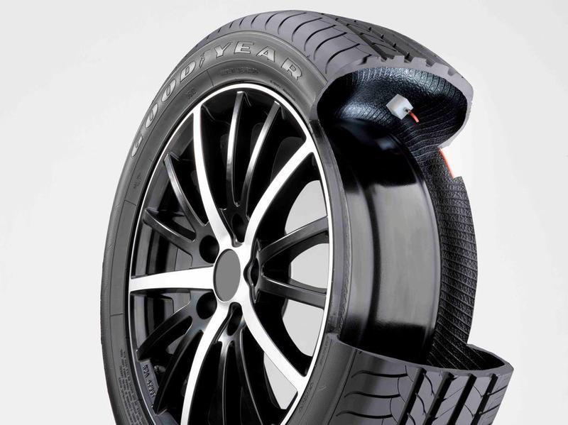 Goodyear presenta un neumático que no se desinfla