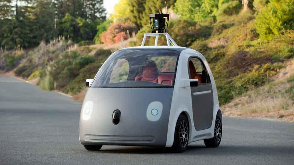 Los coches de Google ya ruedan en tráfico abierto