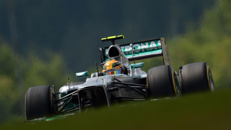 GP Alemania: Hamilton le roba la 'pole' a Vettel en Nürburgring