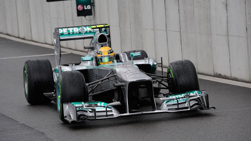 GP Bélgica: Hamilton es 'poleman' y Alonso noveno