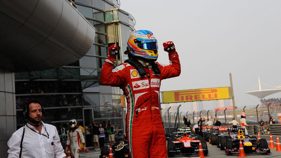 GP China 2013: Fernando Alonso arrasa en Shanghai