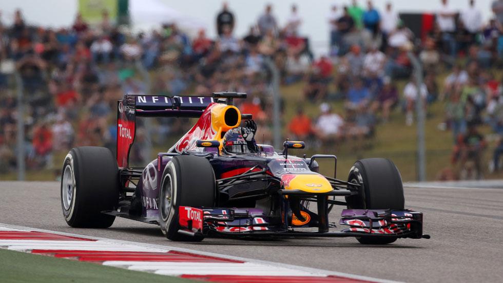GP EEUU: Octava victoria consecutiva de Vettel y Alonso 5º