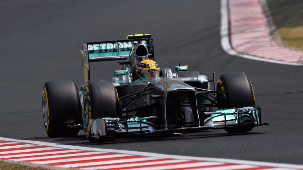 GP Hungría: Hamilton sobresale en Hungaroring