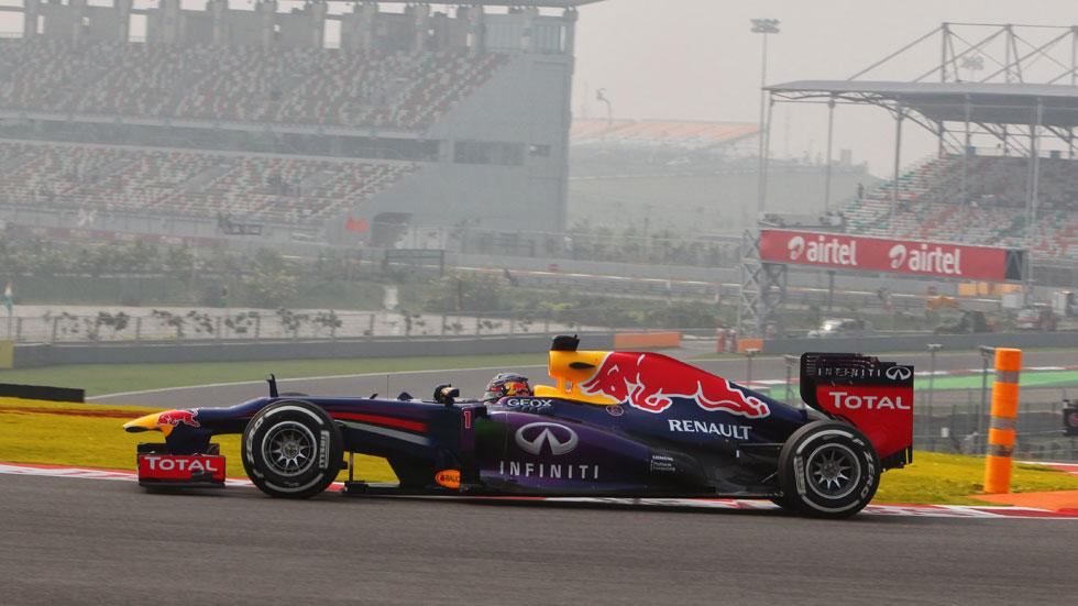 GP India: Vettel se queda con la 'pole' en Buddh, Alonso saldrá 8º